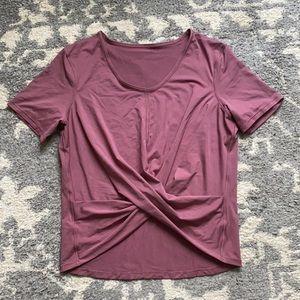 Lululemon Do The Daily Short Sleeve Tee Shirt